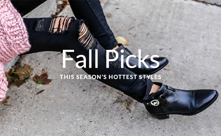 Fall Shoe Crush - This season's hottest styles
