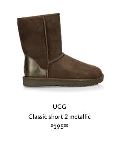 UGG - Classic short 2 metallic