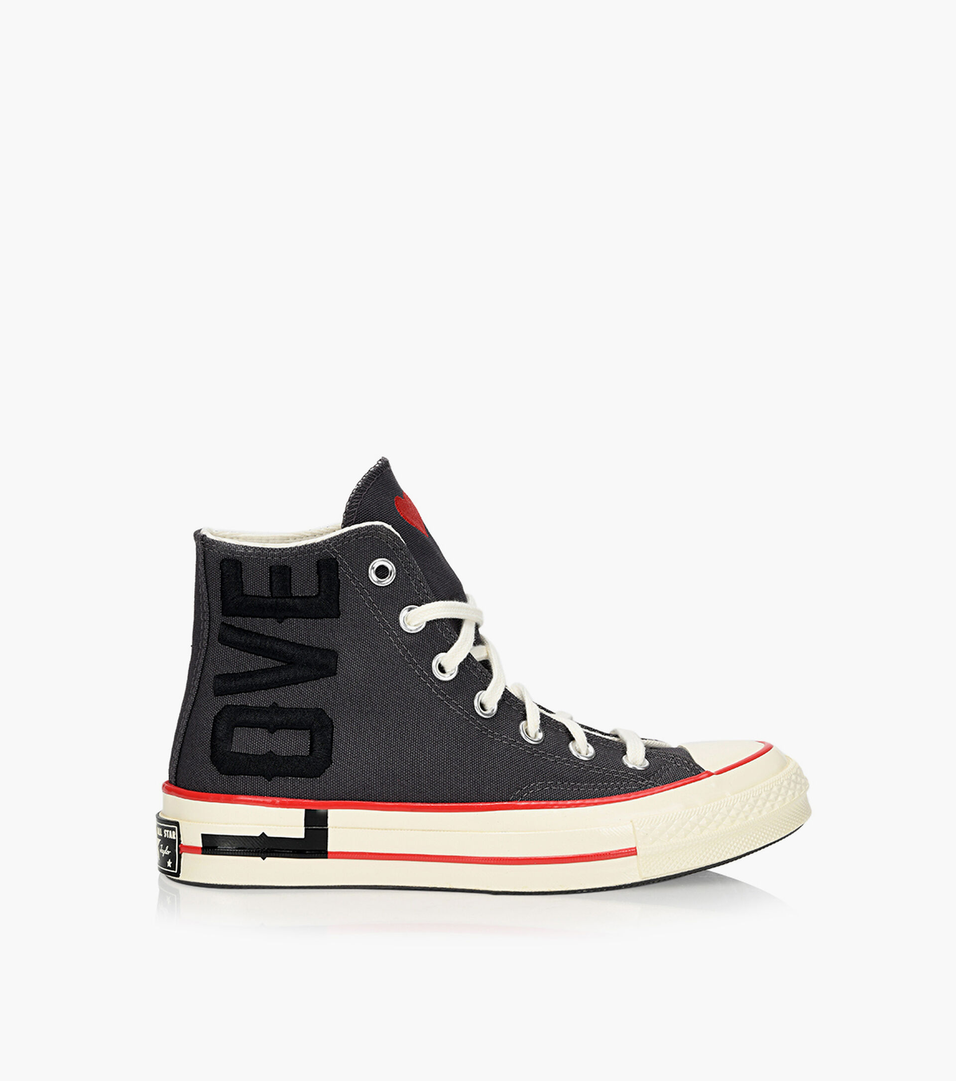 definido Paso Finalmente  CONVERSE CHUCK 70 - LOVE FEARLESSLY - Grey Fabric | Browns Shoes