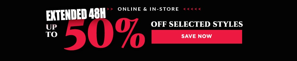 Up To 50% Off On Selected Merchandise.