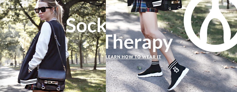 Sock Therapy - Learn how to wear it