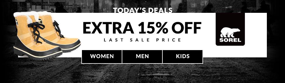 Extra 15% Off Last Sale Price Shop Now