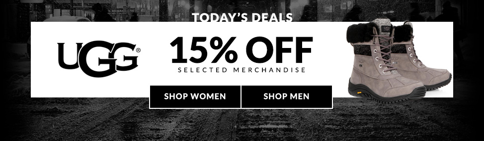 UGG 15% off selected merchandise! Shop Now