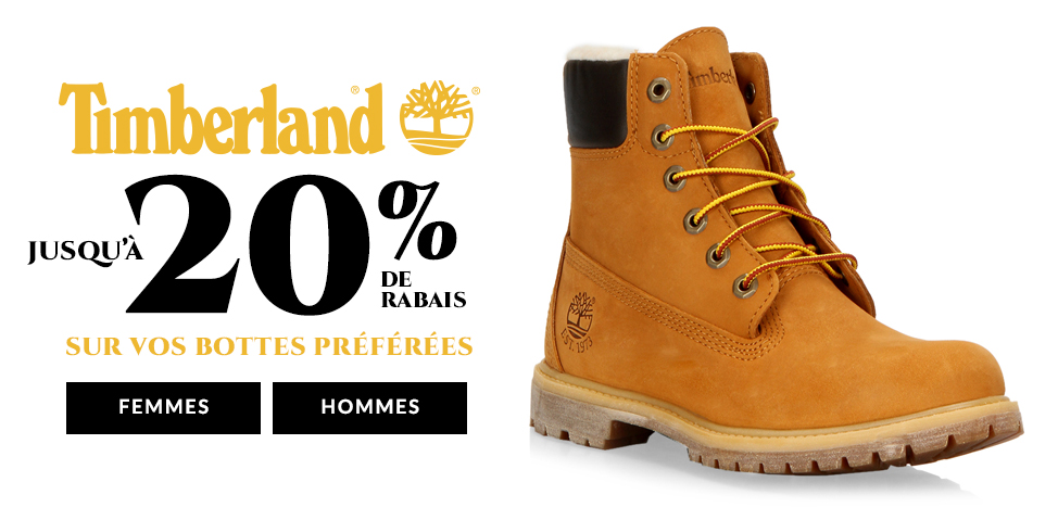 Timberland - Up To 20% Off Winter's hottest boots!